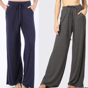 causal pants trousers lounge draw string S XL